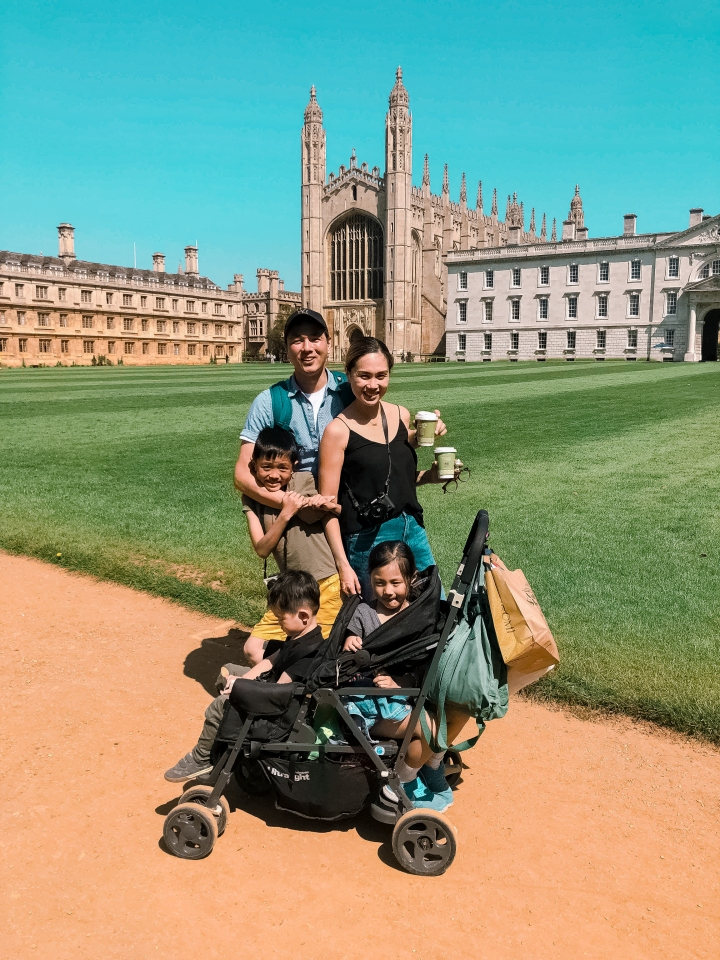 Cambridge with 3 kids, plus tips for parents